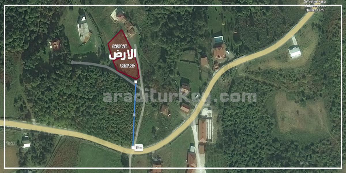 اراضي للبيع في ازميت